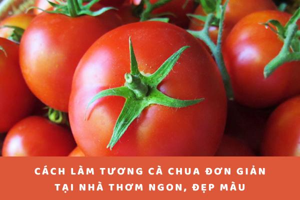 cách làm tương cà chua