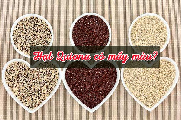 Quinoa có mấy màu