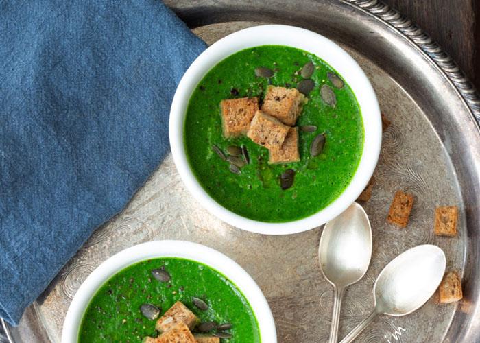 sup cải kale