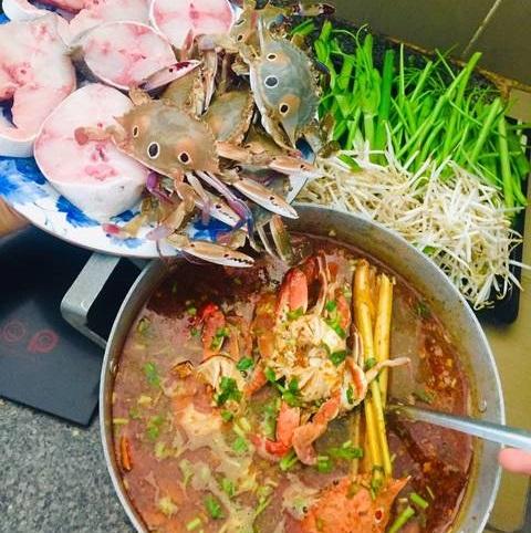 Cách nấu lẩu Thái cá bớp
